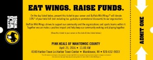 BW3 Coupon