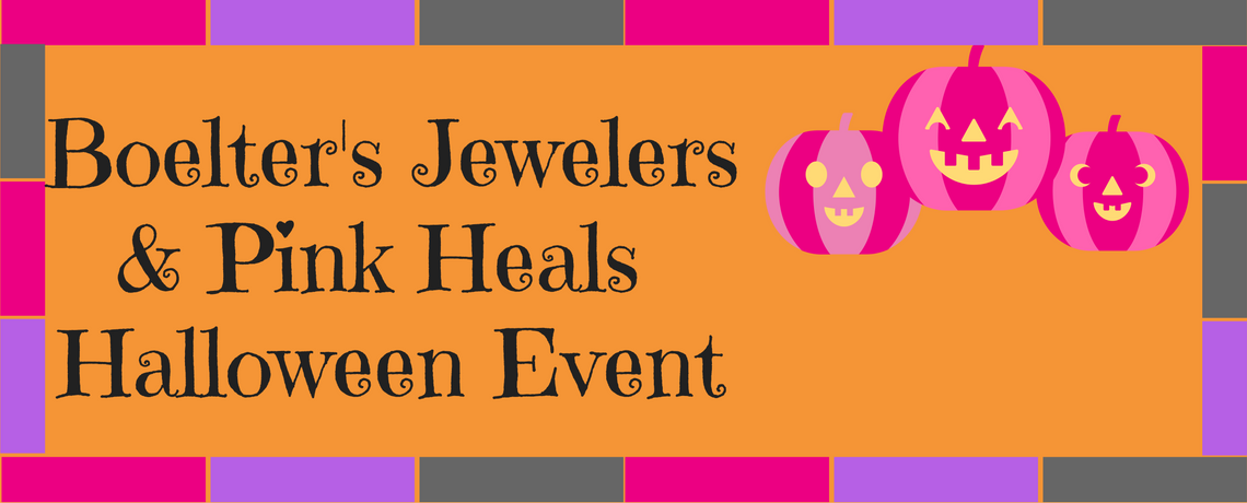 Pink Heals and Boelter's Jewelers Halloween Event