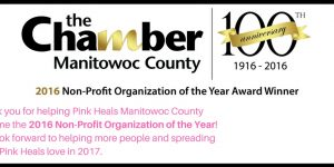 Pink Heals Awarded the 2016 Non-Profit Organization of the Year