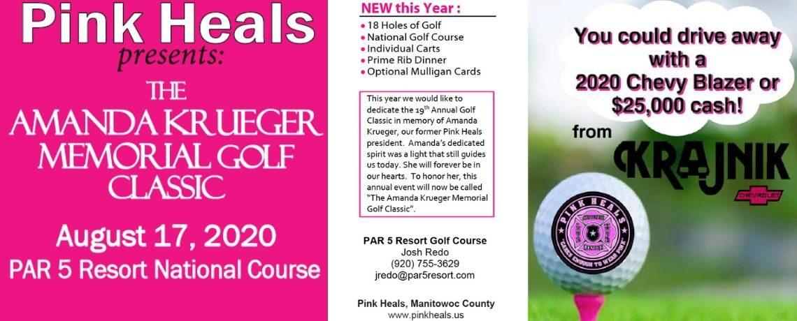 Amanda Krueger Memorial Golf Classic August 17, 2020